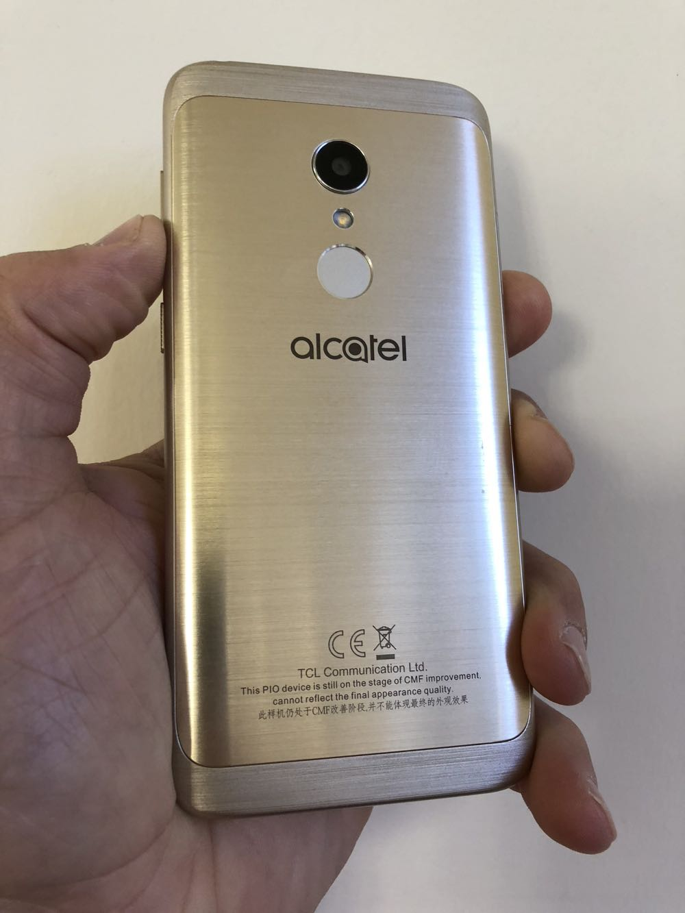 the best attitude 9fc0b 9c699 Alcatel 1C smartphone review - one of the best value devices money ...