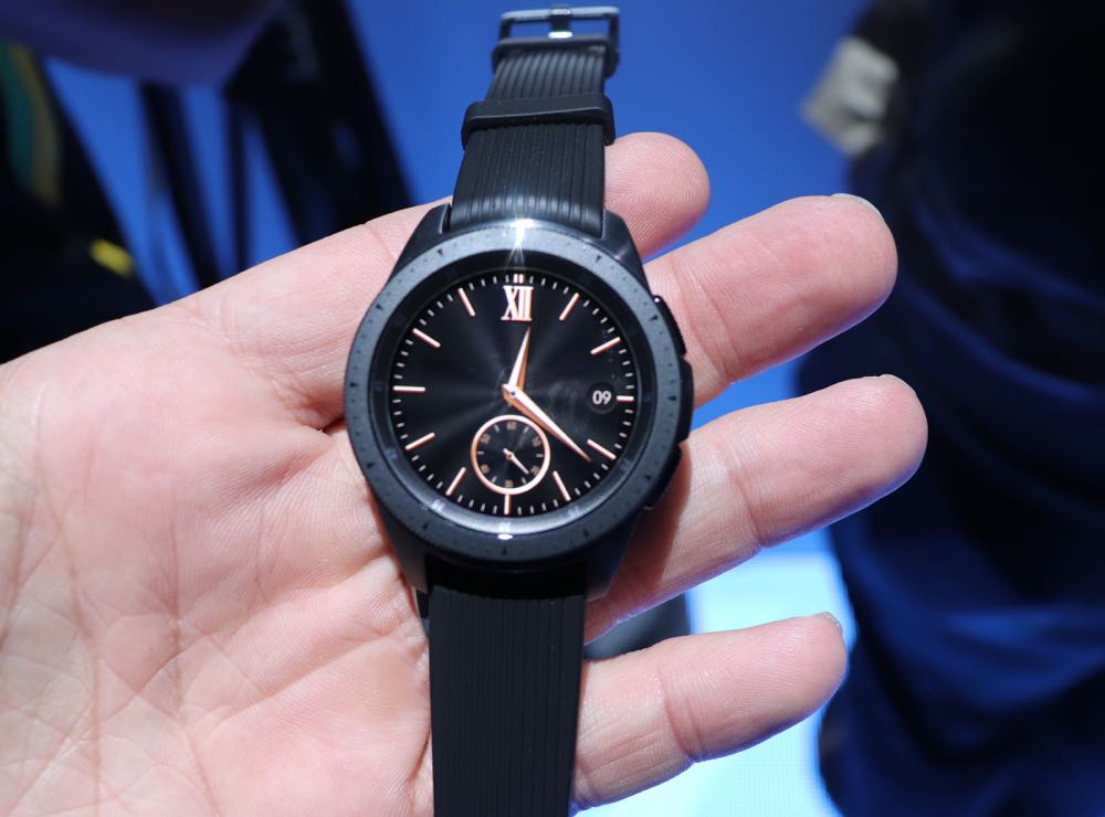 Samsung launches new Galaxy Watch with a built in electronic SIM