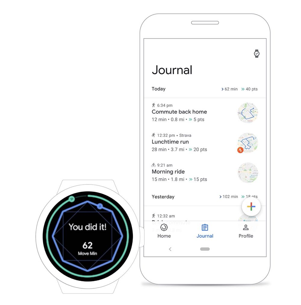 New Google Fit app can help you stay active and get