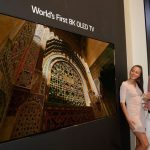 LG unveils the world's first 88-inch 8K OLED TV
