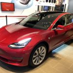 Australian drivers take their first look at the Tesla Model 3