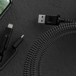 The versatile Nomad cable is actually three cables in one