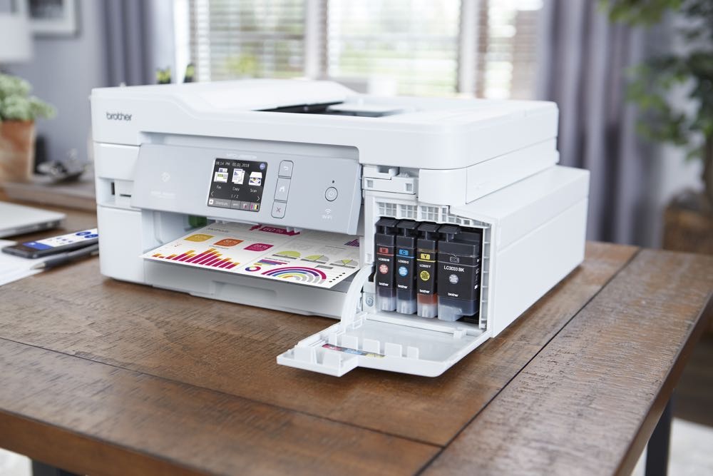 Brother releases new multi-function printers with enough ink to last