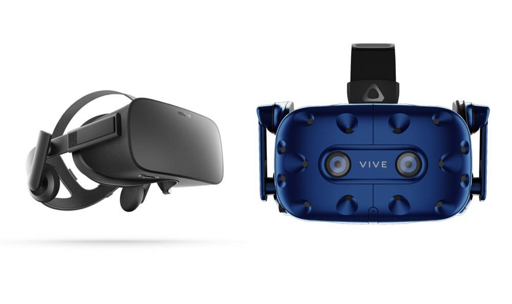VR glasses comparison: HTC Vive v Oculus Rift - Tech Guide