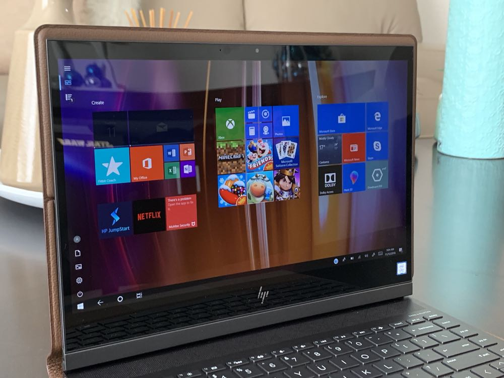 HP Spectre Folio review - a leather-bound laptop that offers