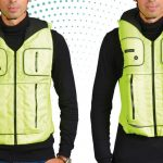 Take a look at the B'Safe vest – it's an airbag for cyclists