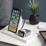 Belkin Boost Up Charging Dock powers your iPhone, Apple Watch and a third device
