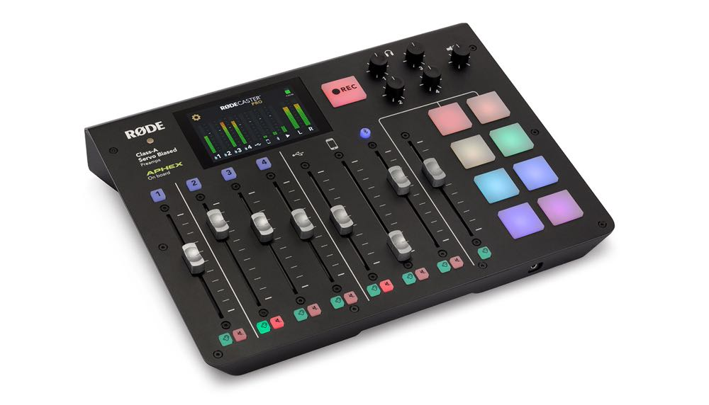 Rodecaster Pro review - the complete podcast studio solution - Tech
