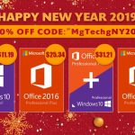 Software New Year 2019 Promotion: Windows 10 Pro $11.19, Office 2016 Pro $25.34