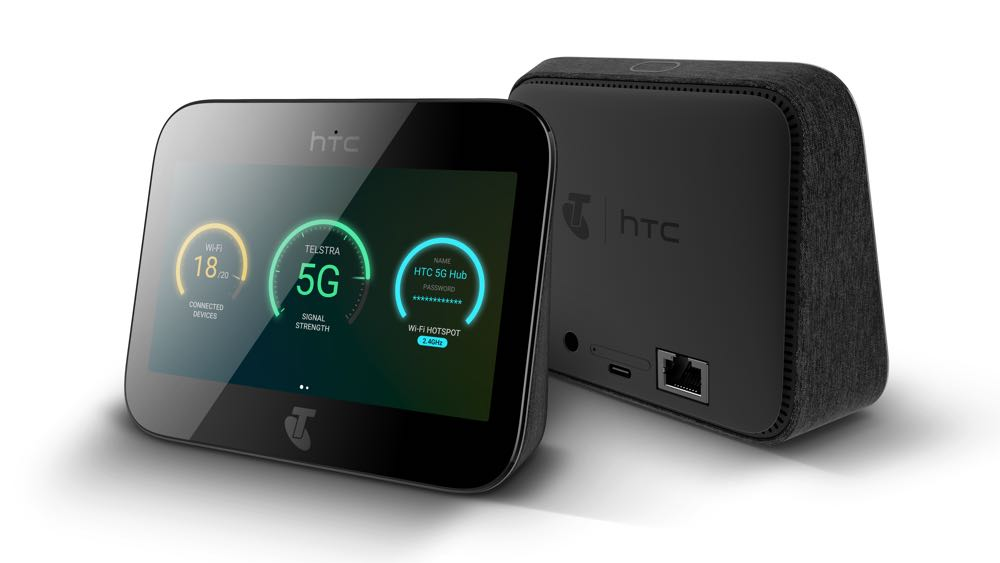 HTC's new 5G Hub connects up to 20 devices at high speed on