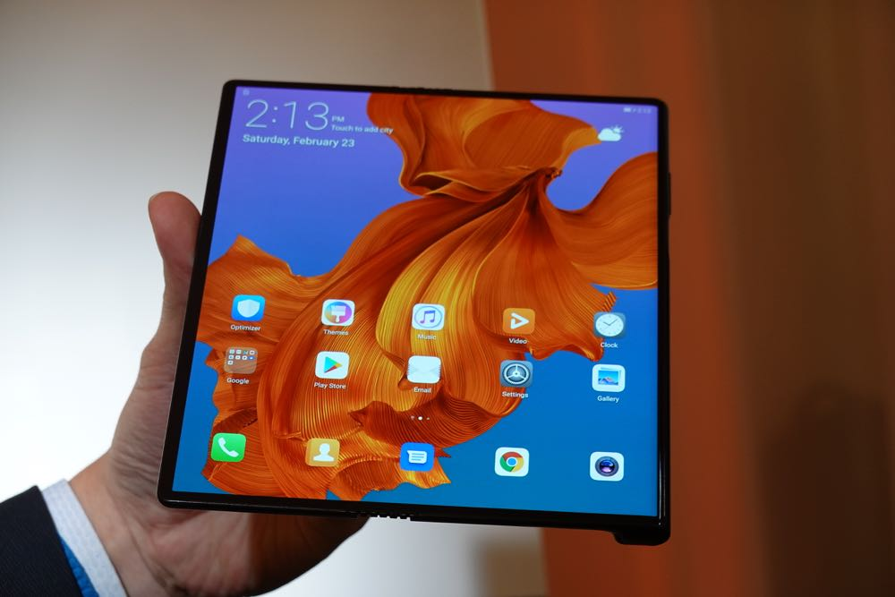 Huawei Unveils The Mate X Its First Foldable Phone That