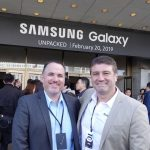 Two Blokes Talking Tech coming to you live from Samsung's launch event in San Francisco