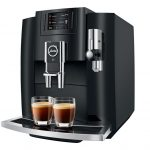 The new Jura E8 produces your favourite coffee brew at the press of a button
