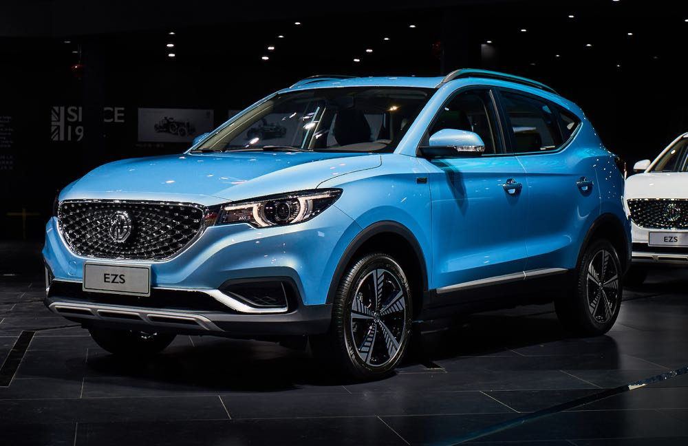 MG Motors Announces Its First All Electric Vehicle And