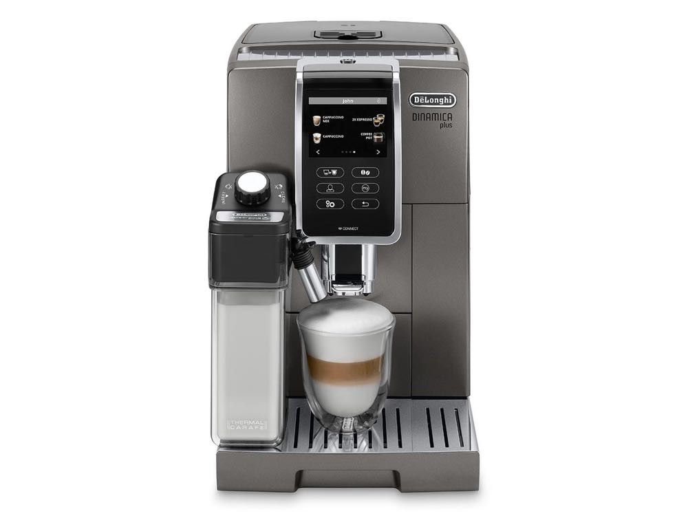 Create barista-quality coffee with one touch with the ...