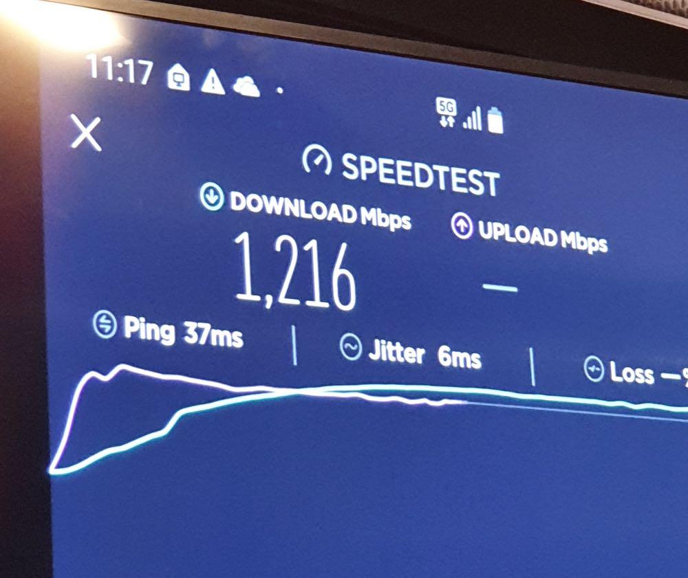 5G Speeds Australia telstra performs blazing 5g speed test on the new samsung