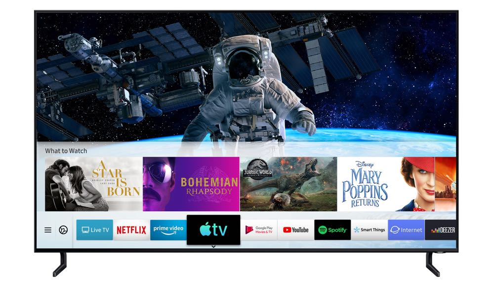 Samsung the first to launch Apple TV and AirPlay 2 on its