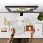 Samsung's new Space Monitor can help you create an uncluttered workspace