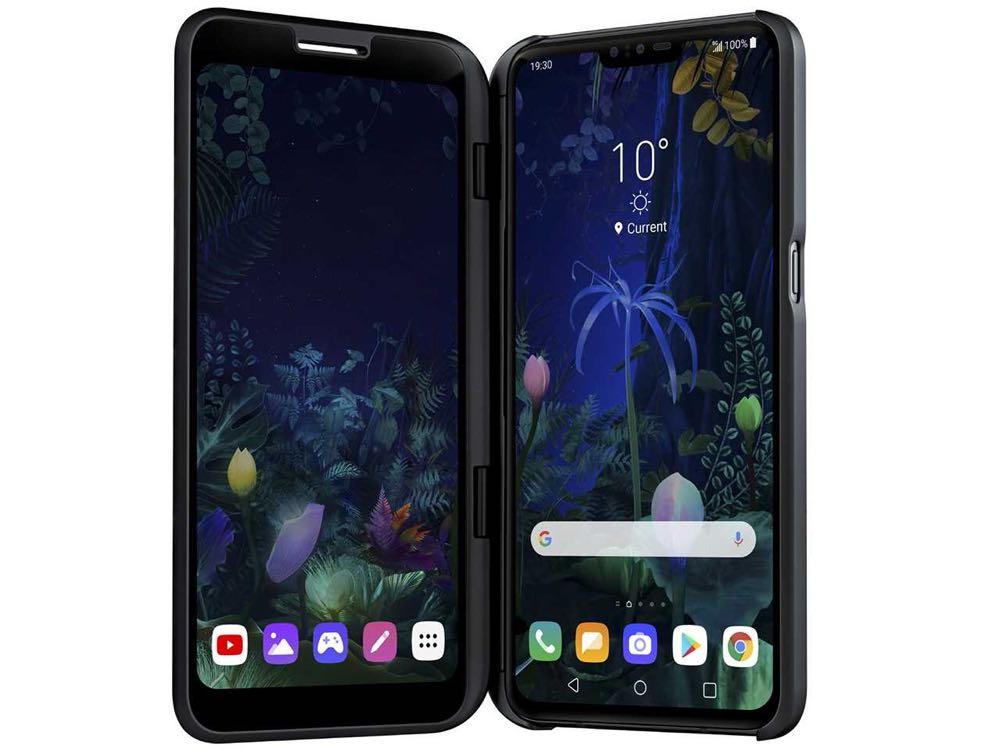 LG launches V50 5G smartphone with dual screens on the Telstra