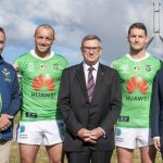 Huawei terminates its major sponsorship of the Canberra Raiders after 10 years