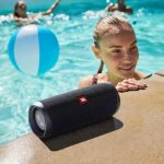 JBL's new Flip 5 speaker offers longer play time and can be used anywhere