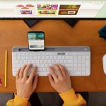 Logitech's new K580 keyboard lets you easily switch between devices