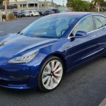 We get behind the wheel of the new Tesla Model 3