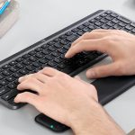 Add a touch of luxury to your desktop with the Logitech MX Keys Advanced Wireless Keyboard