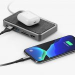 The ALOGIC USB-C Dock Wave 3-in-1 is a hub, battery and wireless charger in one