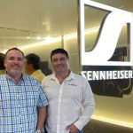 Two Blokes Talking Tech coming to you live from the Sennheiser Store in Sydney