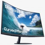 Samsung's new CT55 curved monitor delivers quality and comfort