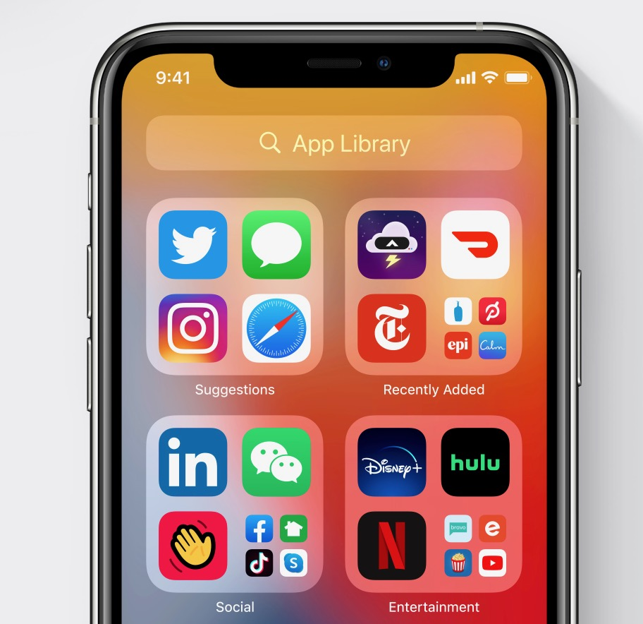 app library ios 14 ipad