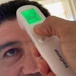 The new MedSense TF01 Forehead Thermometer can help you stay COVID safe