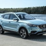 We get behind the wheel of the MG ZS electric SUV – driving into the future