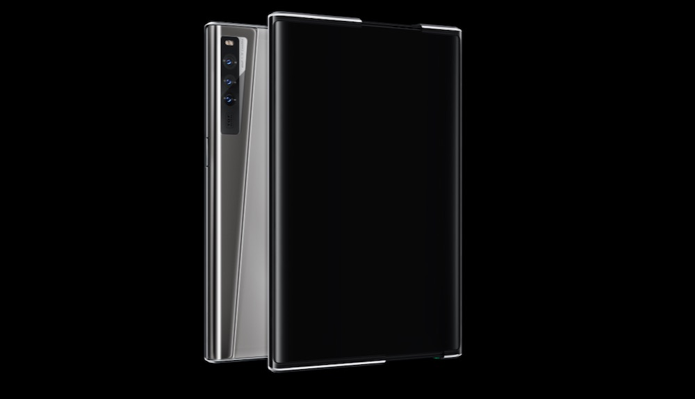 Oppo unveils concept smartphone with a rollable OLED display