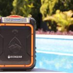 Enjoy your music in the great outdoors with the waterproof EcoXplorer Bluetooth speaker