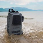 EcoExtreme 2 is a rugged Bluetooth speaker and a secure case for your belongings