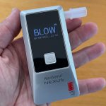 AlcoSense Nexus personal breathalyser lets you know if you're OK to drive