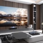 Enjoy a big screen experience at home with the new Hisense 120-inch Laser Cinema