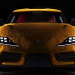 Lego made a life-size Toyota GR Supra from 477,000 bricks. And you can drive it!