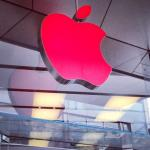 Apple turns store logos red to mark World AIDS Day