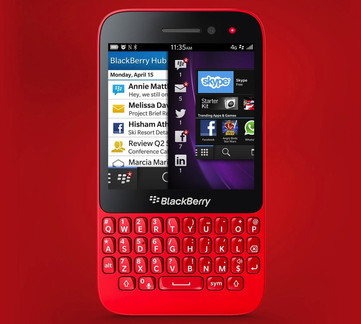 BlackBerry targets youth with new Q5 keyboard smartphone