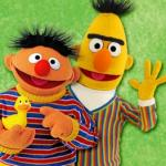 Let Bert and Ernie guide you with your TomTom GPS