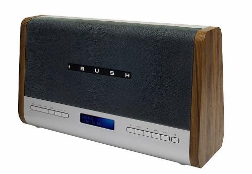 bush aurora digital alarm clock radio with bluetooth review bush aurora blk digital alarm clock. Black Bedroom Furniture Sets. Home Design Ideas