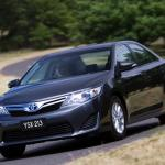 Behind the wheel of Toyota's new hi-tech Camry Hybrid