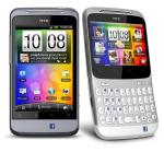 HTC ChaCha and Salsa Facebook phones on Vodafone