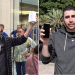 Man who was first to buy new iPhones smashed them for video blog