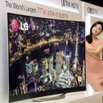 LG to showcase world's largest curved OLED TV at CES