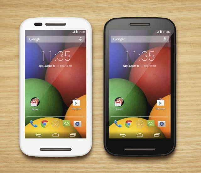 Motorola unveils affordable Moto E 4G smartphone