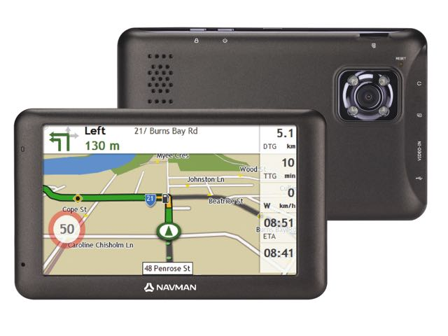 Navman MiVue Drive is a GPS and a dash cam in one
